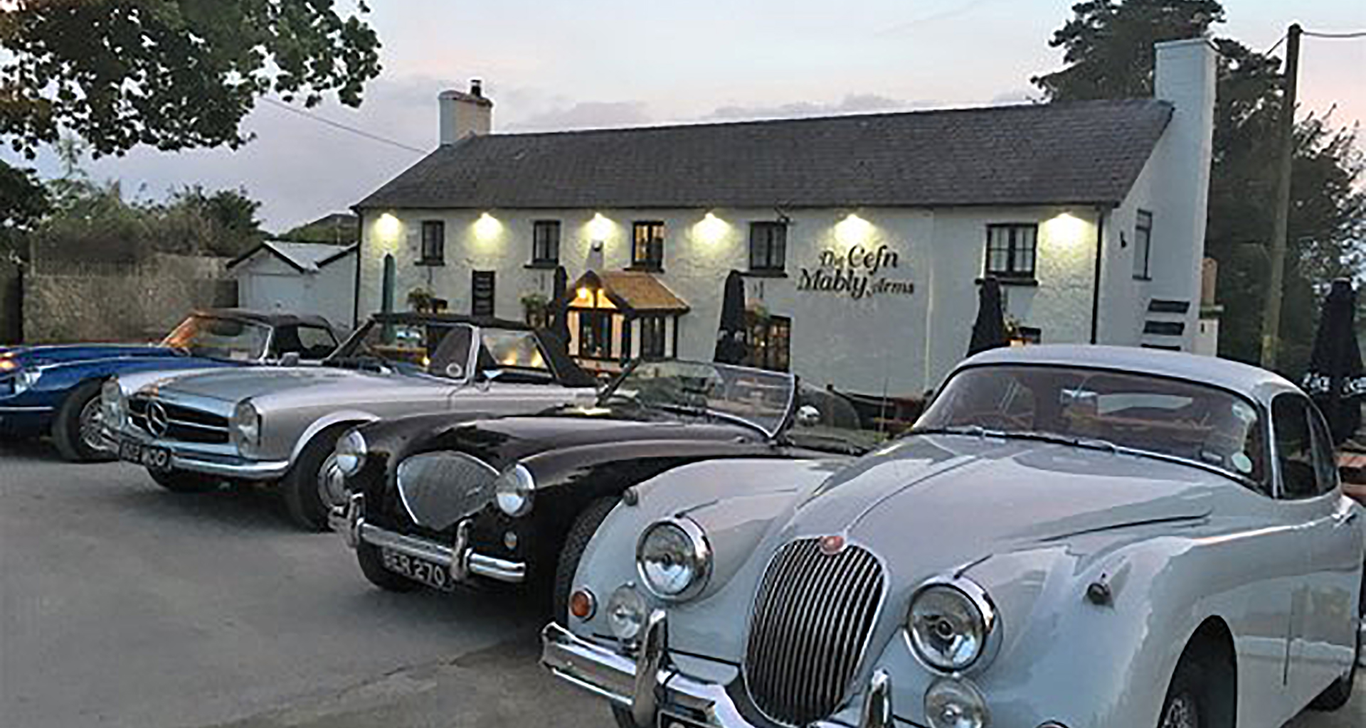 Cefn Mably Arms Classic Car Evening
